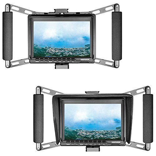 Neewer Director's Monitor Cage for 4 inch/5 inch/7 inch Camera Field Monitor Such as Neewer NW759/74K/760 Feelworld FW759/759P/760/74K Aputure Lilliput Blackmagic Atomos Pangshi Ikan ProAm and Others