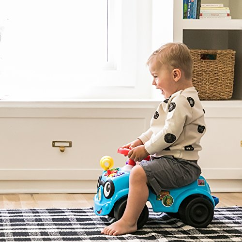 Baby Einstein, Roadtripper™ Ride-On Car and Push Toddler Toy with Real Car Noises, Ages 12 Months and up