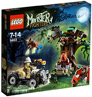 LEGO (LEGO) monster fighter wolf man 9463