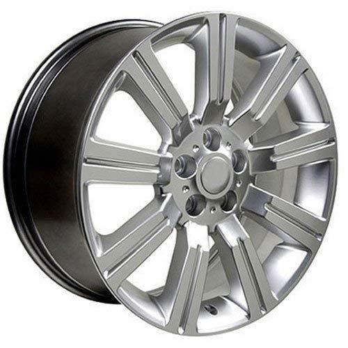 OE Wheels LLC 20 inch Rim Fits Range Rover Stomer Wheel LR01 20x9.5 Hyper Wheel Hollander 72200
