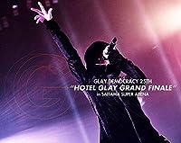 """【店舗限定特典つき】 GLAY DEMOCRACY 25TH""""HOTEL GLAY GRAND FINALE""""in SAITAMA SUPER ARENA【Blu-ray】(オリジナル不織布エコバック付き)"""