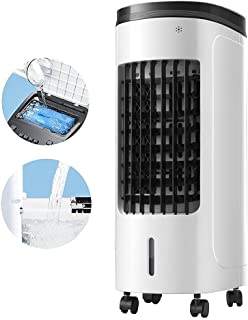 Bärbar avdunstningsluftkylare tillsätt vatten, vattenkylare 3 lufthastigheter och 2 vattentank, personlig luftkonditioneri...