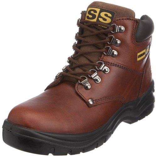 Sterling Safetywear - Scarponcini antinfortunistici, Uomo, Marrone (Braun (Braun)), 42 EU / 8 UK