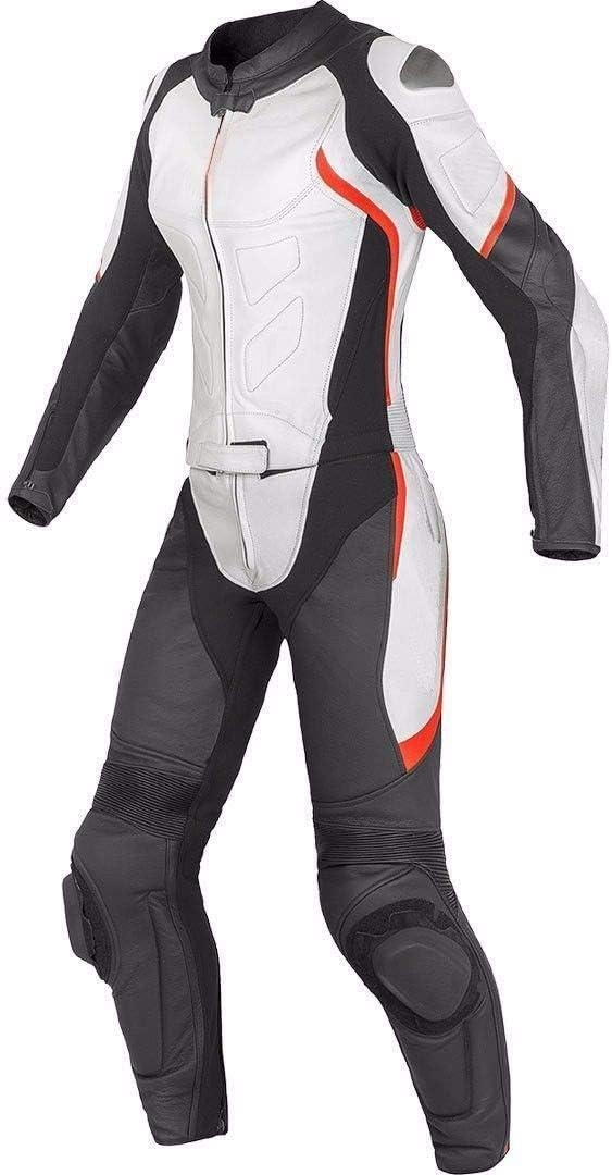 Combinaison de Moto en Cuir pour Femme sur Mesure Style245 Course de Moto Protection /équipement de Motard blind/é