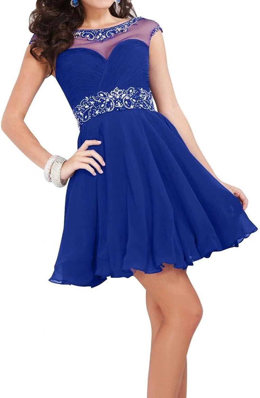 Angel Bride 2016 Cute Mini Bateau Cap Sleeves Tulle Homecoming Dresses for Juniors