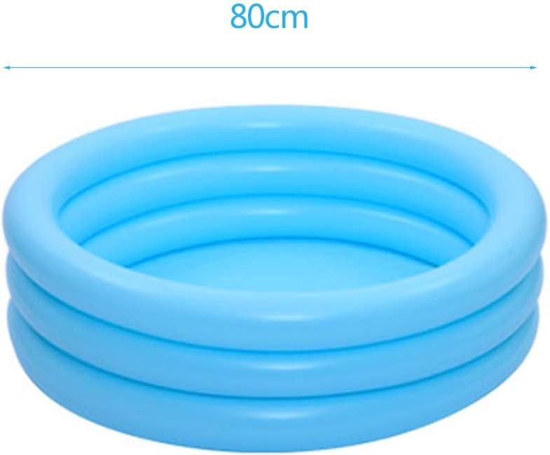Gruesa y Durable Piscina Inflable, de 80 cm de diámetro Ronda ...