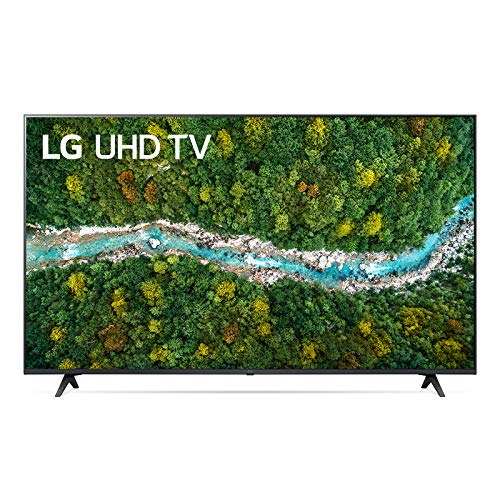 "LG 65UP77006LB Smart TV LED Ultra HD 4K 65"", con Wi-Fi, Processore Quad Core 4K, AI ThinQ, HDR 10, DVB-T2/S2, Wide Color, Google Assistant e Alexa Integrati"