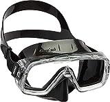 Cressi Sirena Black Gafas de Snorkeling, Unisex-Adulto, Negro, Talla...