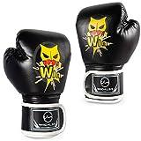 Kids Boxing Gloves, PU Kids Sparring Training Boxing Gloves