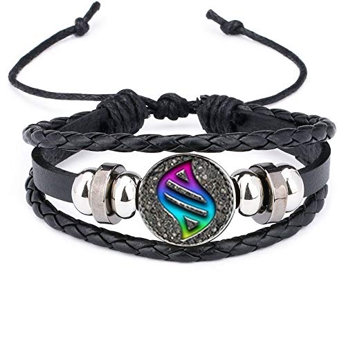 calhepco Game Ball Mega Stone Chain Black Bracelet Game Fashion Charm Glass Cabochon Round Toy Pendant