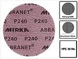 Mirka Abranet Gitternetz-Scheiben GRIP P240 Ø 150 mm (50 Stk.)