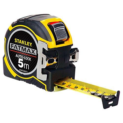 STANLEY XTHT0-33671 Flessometro Autolock FatMax nastro 5m larghezza mm 32