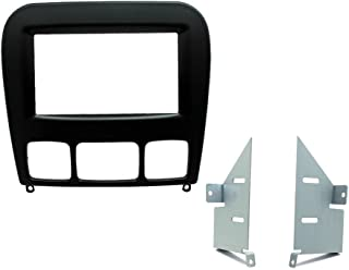 SCOSCHE MZ2354DDB 1998-05 Mercedes Benz S Class Double DIN Kit; Soft Touch Black