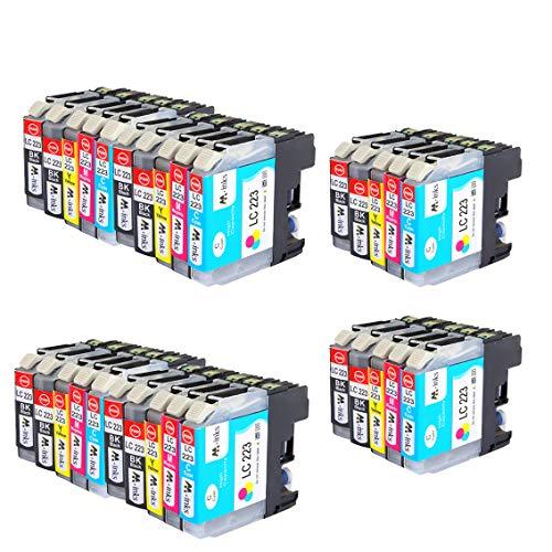 AA+inks 30 confezioni per cartuccia d'inchiostro Brother LC223 compatibile per Brother DCP-J4120DW MFC-J5320DW DCP-J562DW MFC-J4625DW J4420DW J4620DW J5625DW