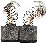 Escobillas de Carbón para MAKITA 3612 fresadora - ?x?x?mm - 0.0x0.0x0.0'' - Con dispositivo de desconexión