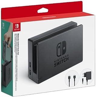 Nintendo - Dock Set Con Base Switch, Adaptador De Corriente Y Cable HDMI (Nintendo Switch)