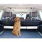 Amazon Basics Adjustable Dog Car Barrier - 16-Inch, Gray