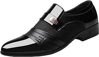 Toamen Zapatos de Negocios Zapatos de Cuero de Negocios para Hombres Zapatos cómodos de Boda para Hombre Zapatos de Traje ...
