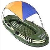 Balsa Hinchable Grande, Barca Hinchable Adulto, Canoa Hinchable 4 Plazas, Balsa Hinchable para Rafting,B