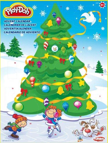 Hasbro - Play Doh - 204851480 - Adventskalender mit 24 Überraschungen für große und kleine Knetfans