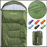 FARLAND Rectangular Sleeping Bag 0 Degree centigrade 20 Degree F,Cold...