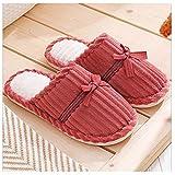AGGF Zapatillas de Espuma viscoelástica para Mujer, Zapatillas Rosadas y esponjosas para Mujer, Forro de Piel sintética, Zapatillas cómodas y cálidas para Mujer, Suela Antideslizante