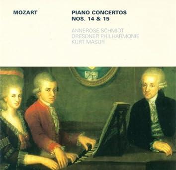 Mozart: Piano Concertos Nos. 14 and 15