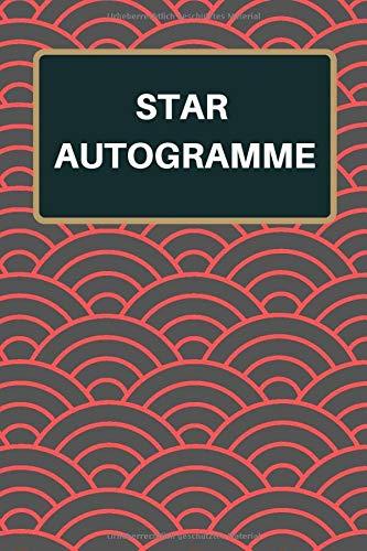 Star Autogramme: Sammelalbum und Notizbuch mit 120 Seiten zum Autogramme sammeln