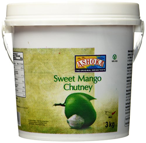 Ashoka Mango Chutney, original, 1er Pack (1 x 3.000 g)