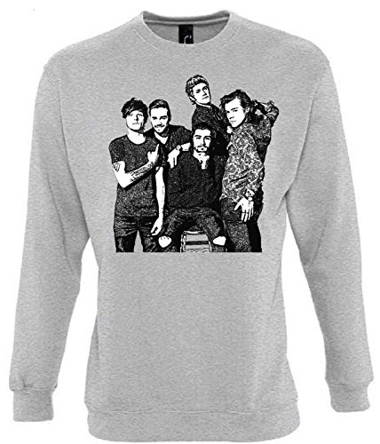 Unbekannt One Direction Funny Mens & Ladies/Herren & Damen Unisex Sweatshirts (L)