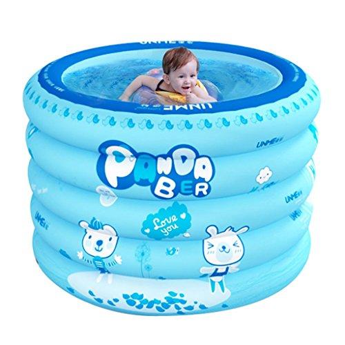 Piscine gonflable pour bébé Baignoire à domicile pour nouveau-nés Baignoire ronde surdimensionnée d'isolation Baignoire bébé 1-3 ans