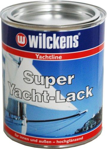 Wilckens Super Yachtlack hochglänzend, RAL 9010 reinweiß, 750 ml 14691000050