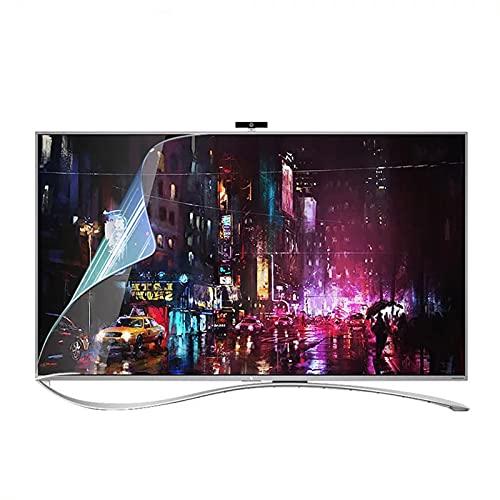 WJDY Protector De Pantalla TV HD Protector De Pantalla De TV Mate Antideslumbrante Fácil De Instalar Sin Dejar Burbujas (Color : HD Version, Size : 49 inch/1075x604mm)