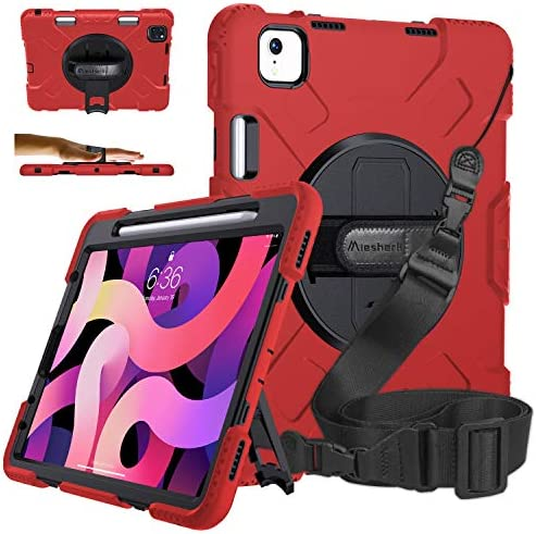 iPad Air 4 Case iPad Air 4th Generation Case with Pencil Holder Military Grade 15ft Drop Tested product image
