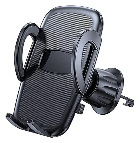 ZHJ Soporte de teléfono para automóviles Clips resistentes Ultra Estable Air Vent Phone Mount Undersal Car Celular Soporte de teléfono Celular Compatible con teléfonos inteligentes de 4.7-6.9 pulgadas