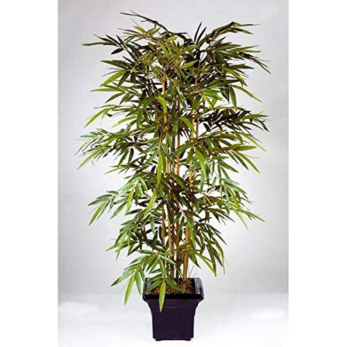 artplants.de Bambú Artificial con 510 Hojas, 120cm - Árbol Artificial - Planta Decorativa