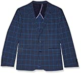 Cole Haan Men's Slim Fit Blazer, Bold Blue, 42 Short