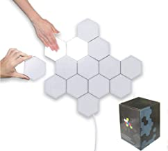 Hexagon Led Lights Honeycomb Led Wall Lights DIY Modular Touch Lamp Quantum Night Light Creative Geometry Assembly Panel R...