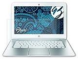 Bruni Schutzfolie kompatibel mit Google Chromebook (14-c010, 14 Inch) HP Pavilion Folie, glasklare Bildschirmschutzfolie (2X)