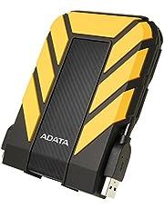 ADATA HD710 Pro – 2 TB, extern hårddisk med USB 3.2 Gen.1, IP68-skyddsklass, gelblank, vattentät och dammtät med militär seghet i flera lager