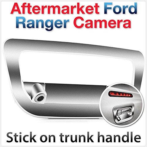 Caméra de stationnement arrière inversée pour Ranger T6 PX avec poignée de Coffre