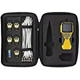 Klein Tools VDV501-853 CoaxialCable Tester, Scout Pro 3 with Test-n-Map Remote, Includes Remotes #2 - #6, Tests Voice, Data and Video Cable