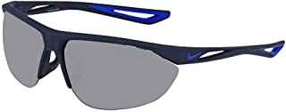 Nike Plastic Frame Grey Silver Flash Lens Men's Sunglasses EV0916300607011440