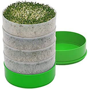 Deluxe Kitchen Crop 4-Tray Seed Sprouter by VKP1200