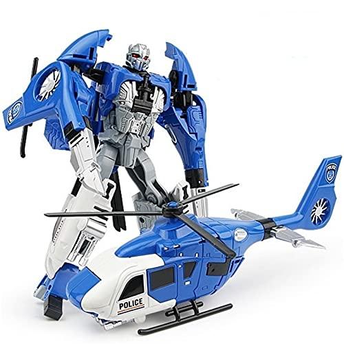 WAWAYU Juguetes de deformación, God of War Ingeniería Vehículo Hércules Pitted Robot Autobot Modelo Modelo Deformación