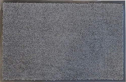 oKu-Tex Felpudo, Poliamida, Gris, 60 x 120 x 0,5 cm