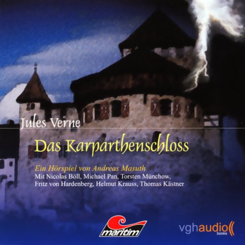 Das Karpathenschloss audiobook cover art