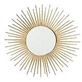 CasaJame Hogar Muebles Decoración Espejo de Pared en Forma de Sol Estilo...