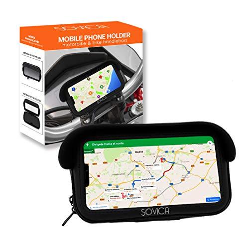 Handyhalterung Fahrrad Motorrad wasserdicht gültige schutzhülle für Smartphones bis 7,2