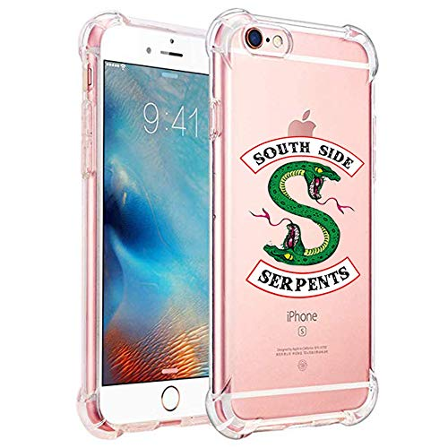 Riverdale Phone Case for iPhone 6s and iPhone 6, Shock-Absorption Bumper Cover, Anti-Scratch Clear Back